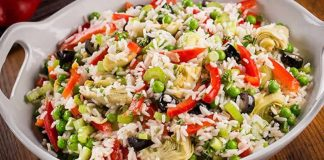 salade italienne riz cookeo