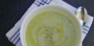 soupe courgettes celeri cookeo
