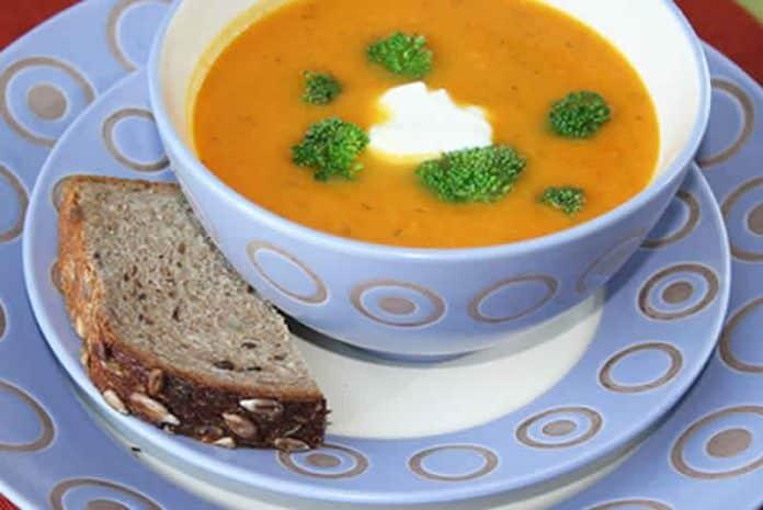 soupe de carottes cookeo