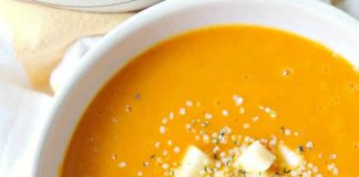 soupe carottes pomme cannelle cookeo
