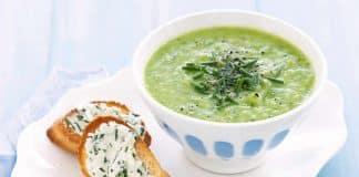 soupe de courgettes petits pois cookeo