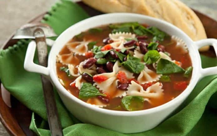 soupe de pates farfalle cookeo
