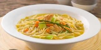 Soupe vermicelles au poulet au cookeo