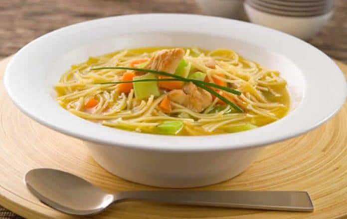 soupe vermicelles poulet cookeo