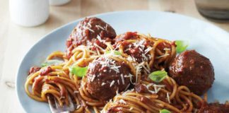 spaghetti aux boulettes de viande cookeo