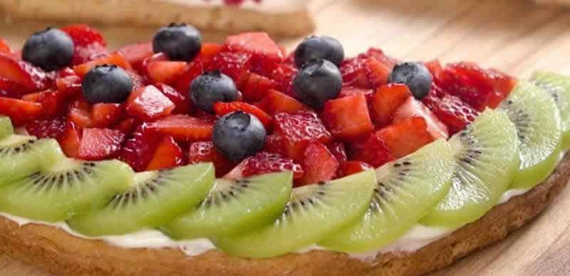 tarte aux fraises et kiwi un d lice pour votre dessert de fin de repas. Black Bedroom Furniture Sets. Home Design Ideas