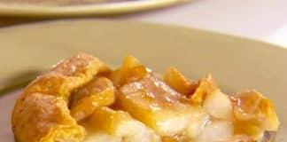 Tarte aux poires et miel
