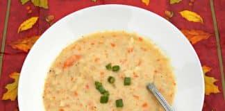 veloute carottes choux fleur cookeo