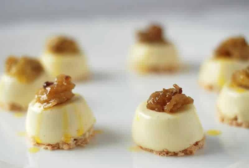 Macarons la noix de coco et panna cotta la vanille votre dessert - Panna cotta noix de coco ...
