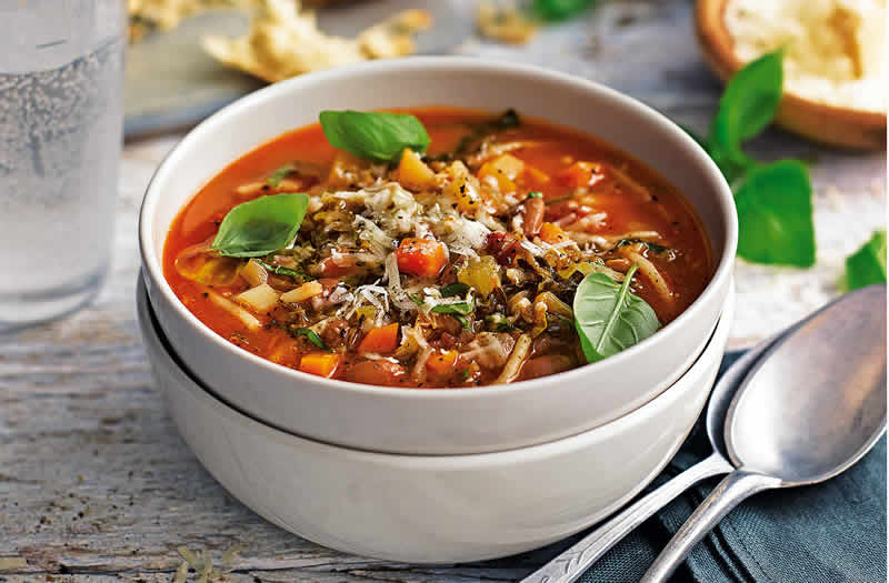 Minestrone au Cookeo