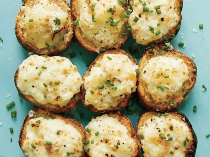 pommes de terre au parmesan et au citron