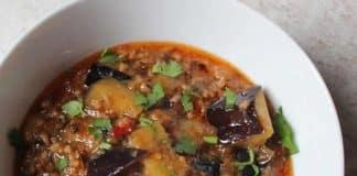 aubergines bolognaise cookeo