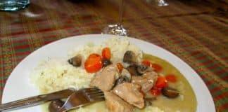 blanquette de veau champignons carottes cookeo