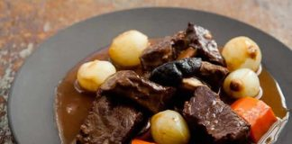 boeuf bourguignon sauce onctueuse cookeo