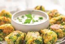 Boulettes de brocoli au fromage