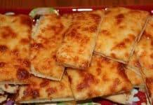 Carrés au fromage et à l'ail au thermomix