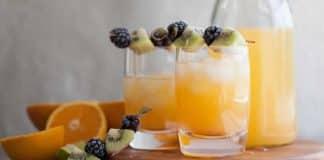 Cocktail mixte aux agrumes au thermomix