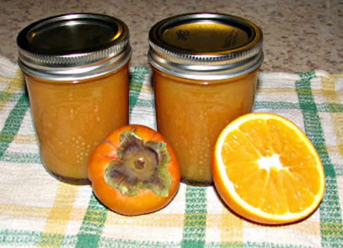 Confiture au orange et kakis au thermomix