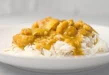 Emincés de poulet au curry cookeo