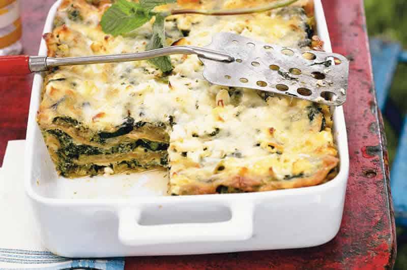 Gratin de lasagnes courgette et fromage ch vre au thermomix - Recette pour courgettes au thermomix ...