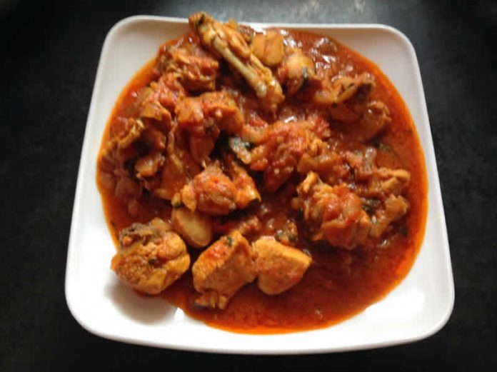poulet tomate cookeo