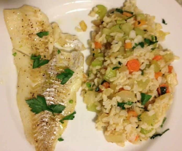 riz filet de colin carottes celeri cookeo