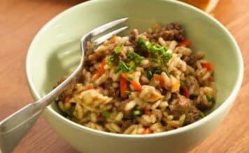 riz viande hachee cookeo