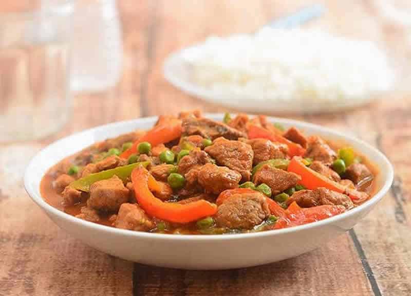 Saute de porc aux legumes cookeo un d licieux plat pour - Cuisiner un saute de porc ...
