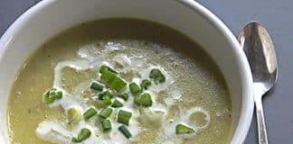 Soupe de chou vert au thermomix