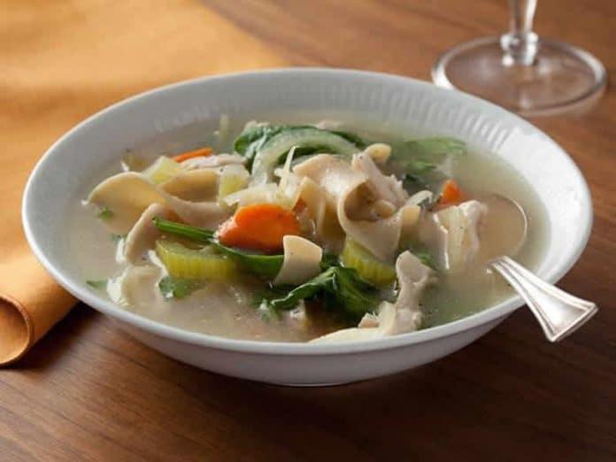 soupe de legumes poulet cookeo