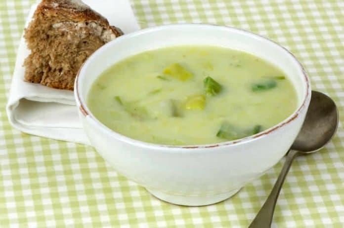 soupe de poireaux cookeo