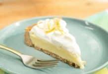 Tarte à la crème au citron