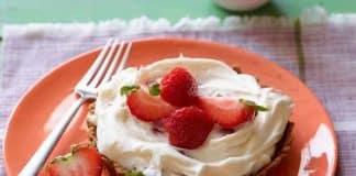 Tartelettes aux fraises et crème