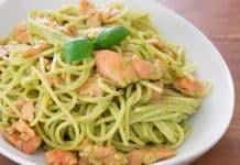spaghettis au saumon cookeo