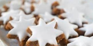 zimtsterne - biscuits avec glaçage au thermomix