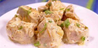Blanc de poulet à la sauce fromage cookeo