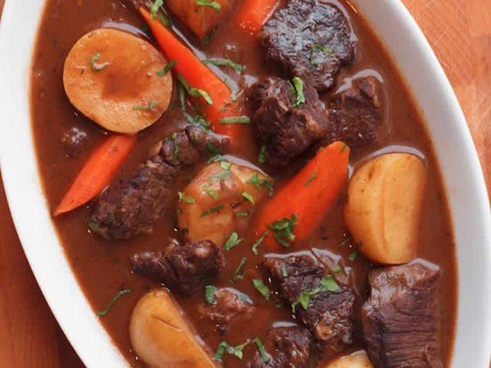 Boeuf aux carottes et pommes de terre cookeo