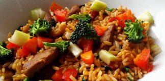 Boeuf bourguignon au riz et légumes cookeo