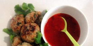 Boulettes de poulet Thai au thermomix