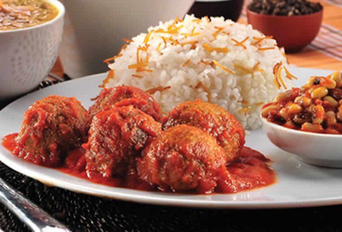 Boulettes de viande au sauce tomate cookeo
