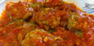 Boulettes de viande aux courgettes et sauce tomate cookeo