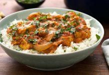 Butter chicken - recette poulet indien