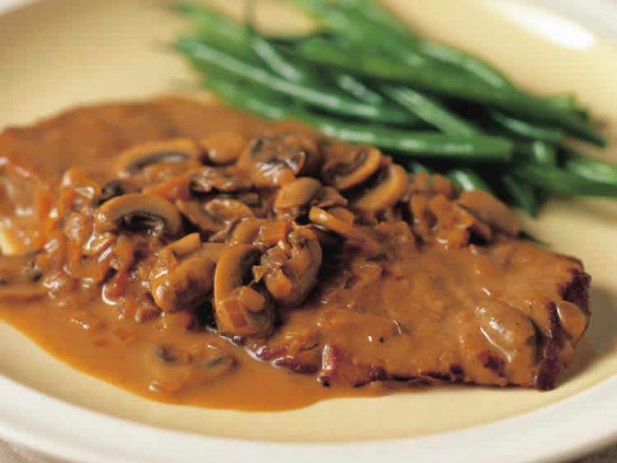 Filet de veau aux champignons cookeo