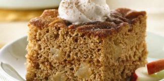 Gâteau à la cannelle et pommes