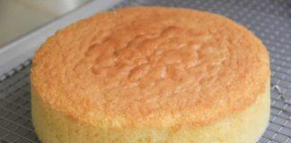 Gâteau éponge facile