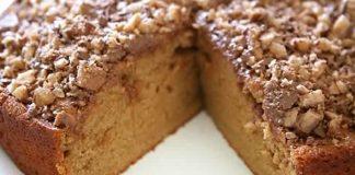 Gâteau au sucre et noix rapide