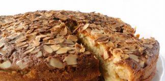 Gâteau aux pommes et la cannelle