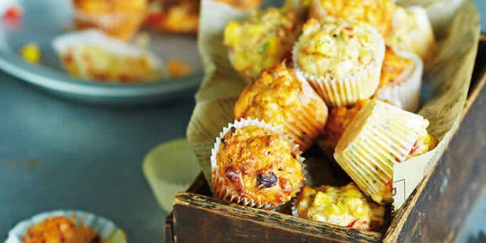 Mini muffins méditerranéens au thermomix