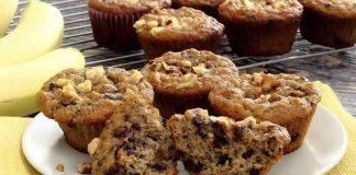 Muffins au banane et chocolat au thermomix
