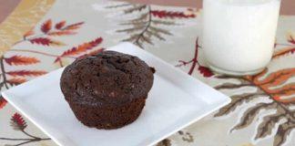 Muffins au chocolat noir au thermomix